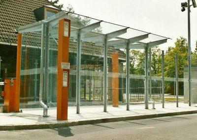 Kasernenzufahrt in Fürstenfeldbruck