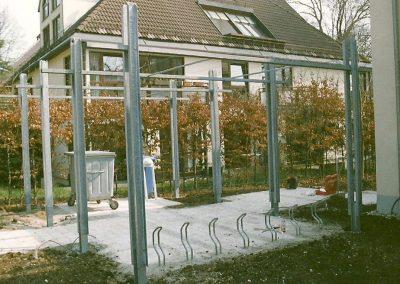 Pergola an Wohnanlage in München