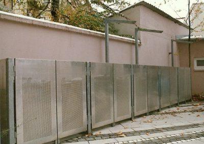 Mülltonnenboxen an Wohnanlage in München