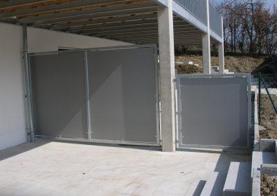 Sichtschutz an Wohnhaus in Kottgeisering